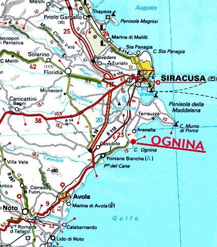 Cartina Noto Sicilia.Il Mirto E La Rosa Maps