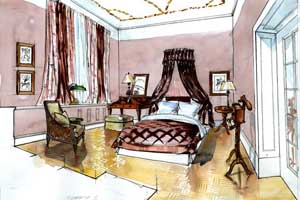 alte galerie hotel maison berlin. Black Bedroom Furniture Sets. Home Design Ideas