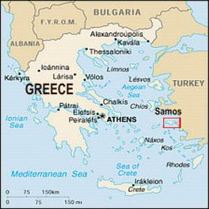 Maps For Samos Hotel