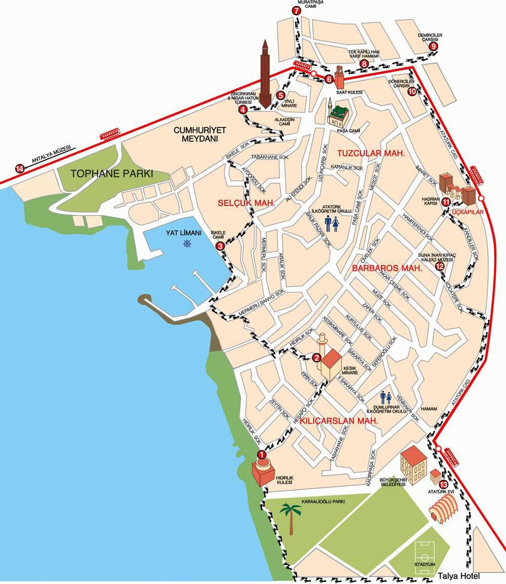 Google Map Icon Maps 10775 Kaleici Lodge Hotel Antalya Haritasi Jpg