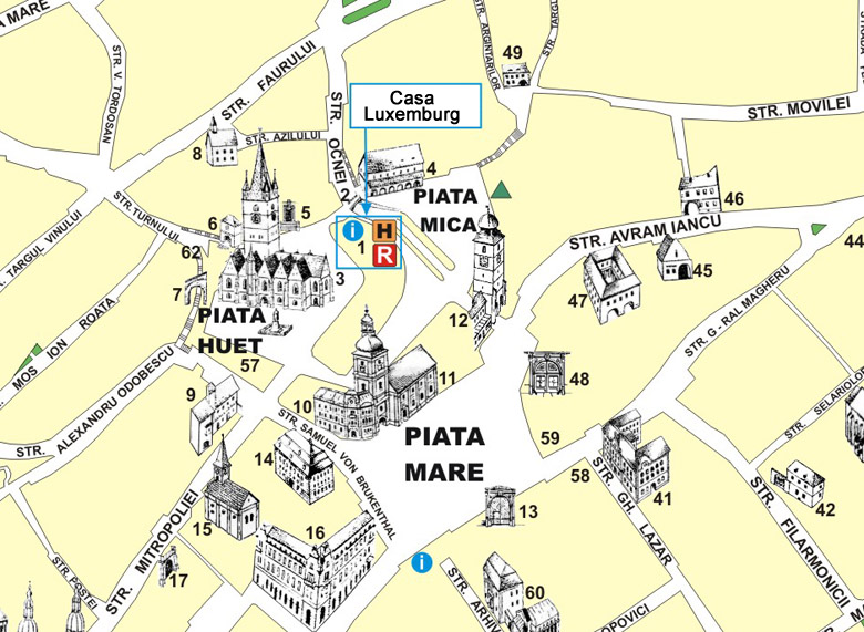 Maps For Hotel Casa Luxemburg