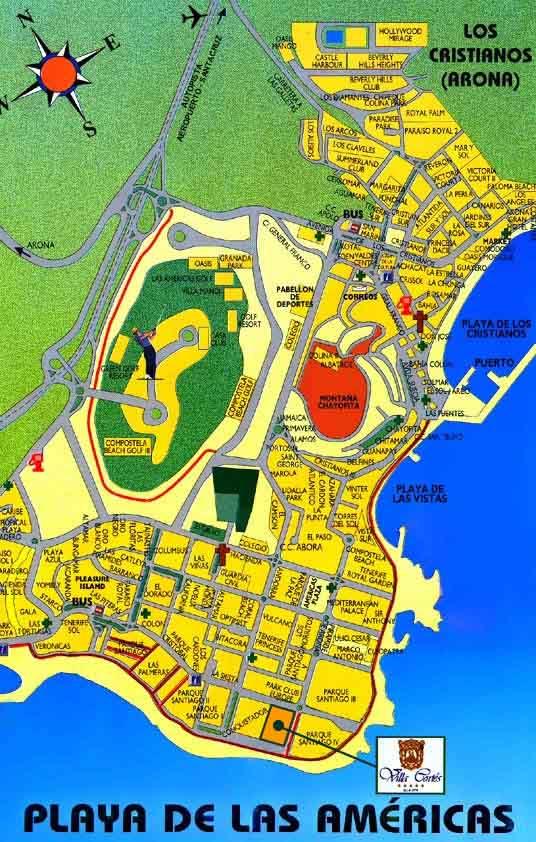 Maps for Hotel Villa Cortes