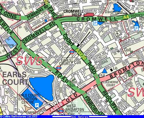 Earls Court Map Maps for Hotel Comfort Inn Earls Court Earls Court Map