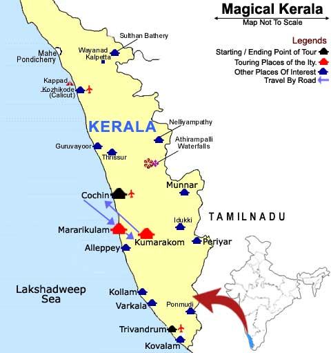 Map of Tharavadu Heritage Home  tobookcom