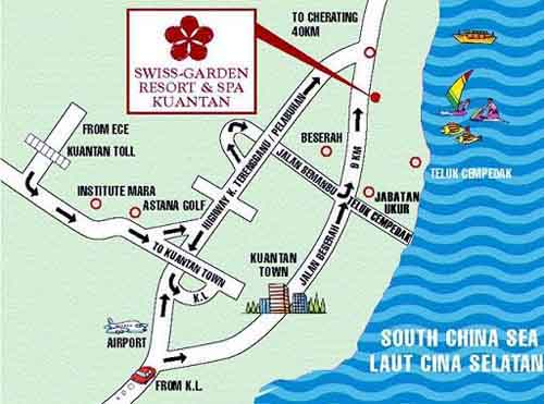 Maps for Hotel Swiss Garden Resort & Spa