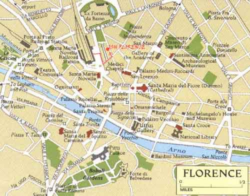 Maps for ISH Florence