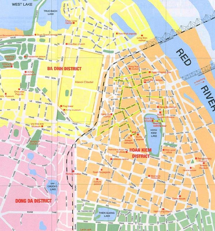 Maps for Hanoi Advisor hotel