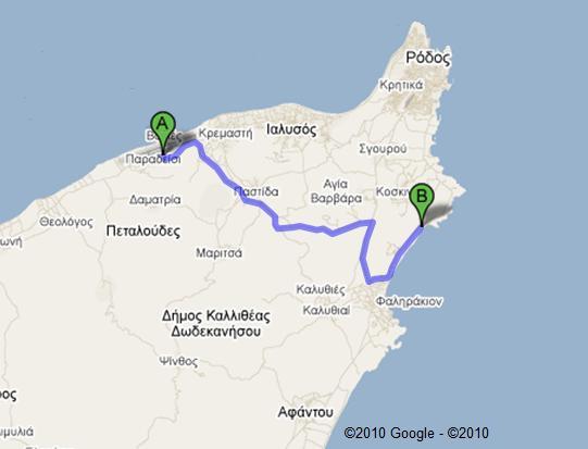 Rhodos Karte Faliraki.Map Of Elysium Resort Tobook Com