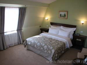 Standard double for single use with garden view, king bed, private facilities, and breakfast