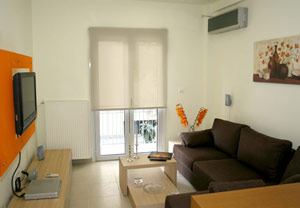 2 person superior apartment with city view, balcony, and private facilities (shower)