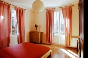 King size double with city view, balcony, and private facilities (bath and shower)