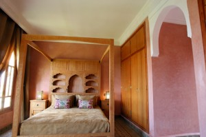 2 person large 1 room suite with pool view, terrace, and private facilities (bath and shower)