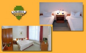 Double or twin with private facilities