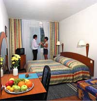Standard 1 room double for single use with garden view, private facilities (shower), and breakfast