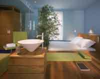 3 person deluxe studio with private facilities