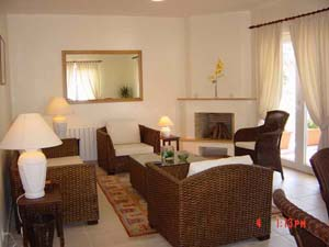 4 person large 2 room villa with sea view, balcony, an extra bed, and private facilities (bath and shower)