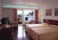 Double or twin with sea view, balcony, private facilities, and breakfast
