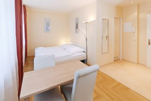2 person comfort studio with city view, and private facilities (shower)