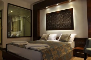 Comfort double with sea view, french bed, and private facilities
