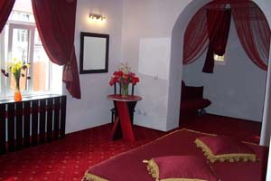 2 person junior suite with city view, and private facilities (bath and shower)