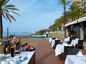in the centre of the town and on the first line of the sea the hotel fuerte miramarspa in marbella can offer a wide range of activities and
