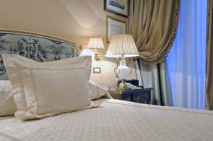 Classic double with king bed, and private facilities (bath and shower)