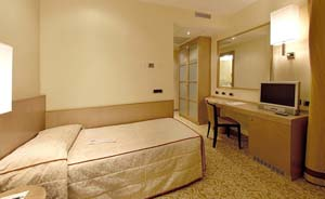 Standard single with private facilities (shower)